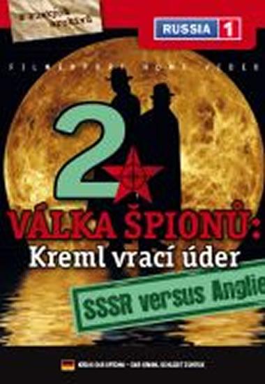 Válka špiónů: Kreml vrací úder 2. - SSSR versus Anglie - DVD digipack - neuveden - 13,8x18,6
