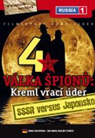 Válka špiónů: Kreml vrací úder 4. - SSSR versus Japonsko - DVD digipack - neuveden - 13,8x18,6