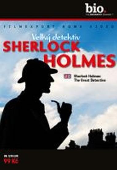 Velký detektiv Sherlock Holmes - DVD digipack - neuveden - 13,8x18,6