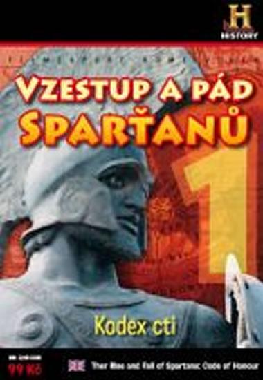 Vzestup a pád Sparťanů 1. - Kodex cti - DVD digipack - neuveden - 13,8x18,6