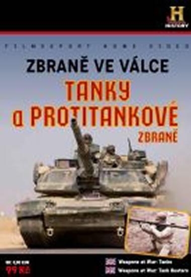 Zbraně ve válce: Tanky a Protitankové zbraně - DVD digipack - neuveden - 13,8x18,6