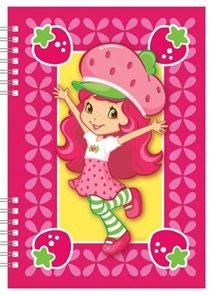 Strawberry - školní zápisník A5