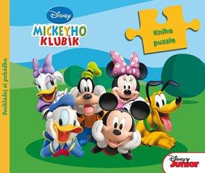 Mickeyho klubík - Kniha puzzle
