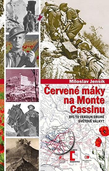 Červené máky na Monte Cassinu - Byl to Verdun druhé světové války?) - Jenšík Miloslav - 13,2x20,7