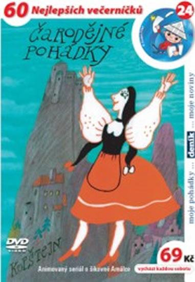 Čarodějné pohádky - DVD - Kubín Josef Štefan - 14,7x21