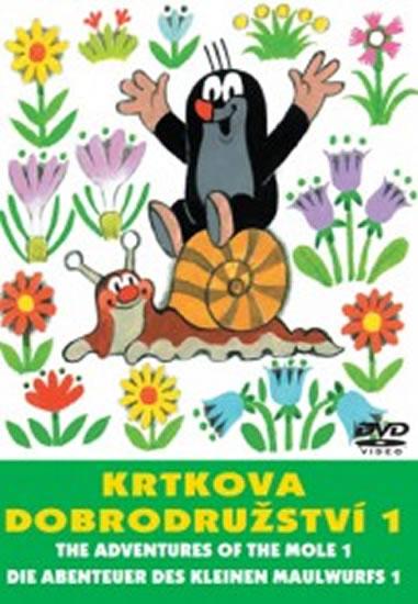 Krtkova dobrodružství 1. - DVD - Miler Zdeněk - 14,7x21