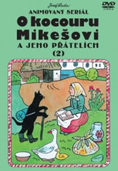 O kocouru Mikešovi 2. - DVD - Lada Josef - 14,7x21
