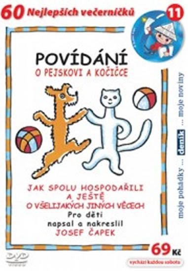 Povídání o pejskovi a kočičce - DVD - Čapek Josef - 14,7x21