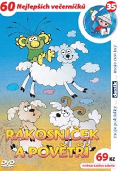 Rákosníček a povětří - DVD - Smetana Zdeněk - 14,7x21