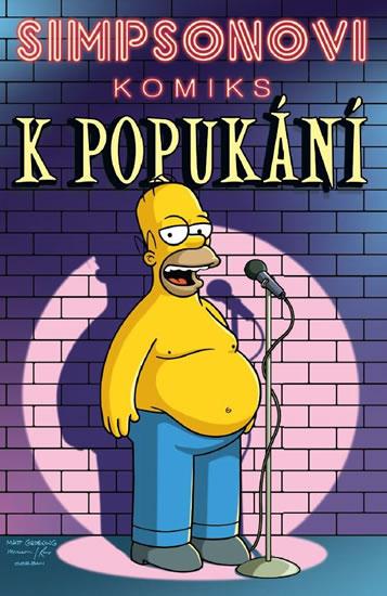Simpsonovi Komiks k popukání - Groening Matt - 17x26