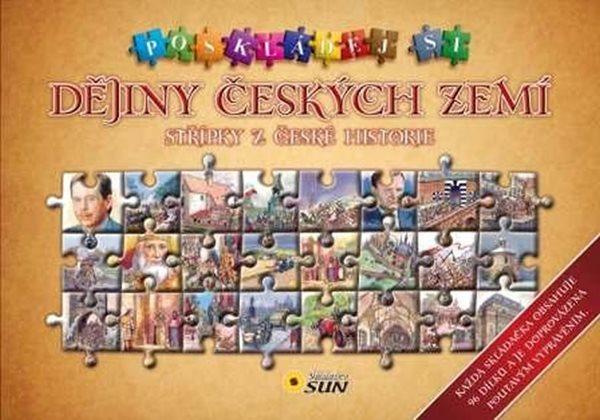 Poskládej si dějiny českých zemí - 27x29