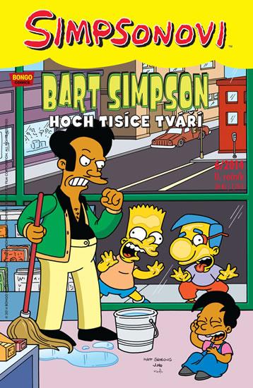 Simpsonovi - Bart Simpson 6/2014 - Hoch tisíce tváří - Groening Matt - 17x26