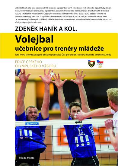 Volejbal - Učebnice pro trenéry mládeže - Haník Zdeněk - 17,4x24,1