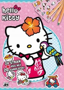 Hello Kitty - Omalovánky A4+