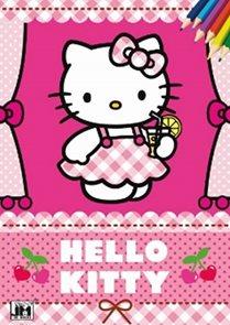 Hello Kitty - Omalovánky A5+