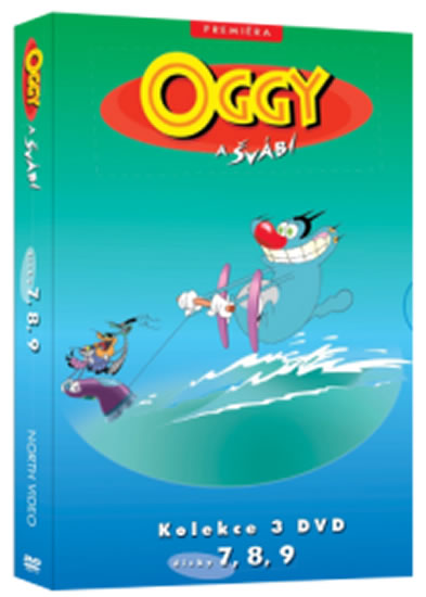 Oggy a švábi 7 - 9 / kolekce 3 DVD - neuveden - 13x19 cm, Sleva 12%