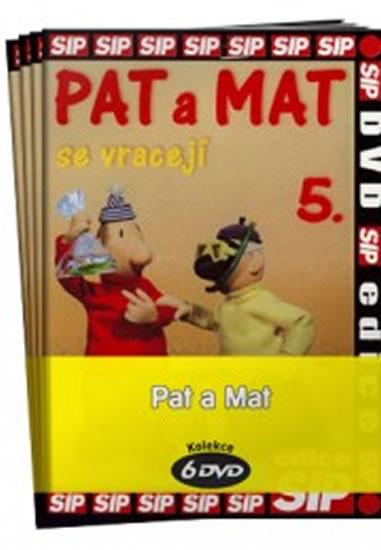 Pat a Mat 1 - 6 / kolekce 6 DVD - 14,7x21