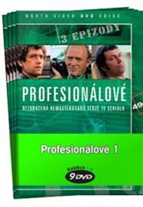Profesionálové 1. - kolekce 9 DVD