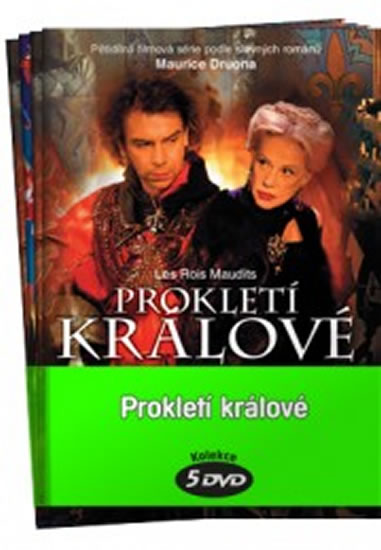 Prokletí králové - kolekce 5 DVD - neuveden - 14,7x21