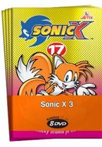 Sonic X 3. - kolekce 8 DVD