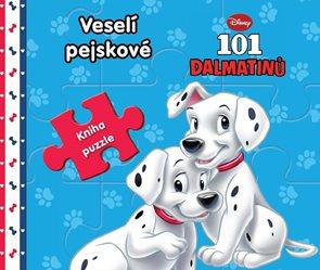 101 dalmatinů Veselí pejskové - Kniha puzzle