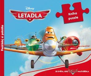 Letadla - Kamarádi na křídlech - Kniha puzzle