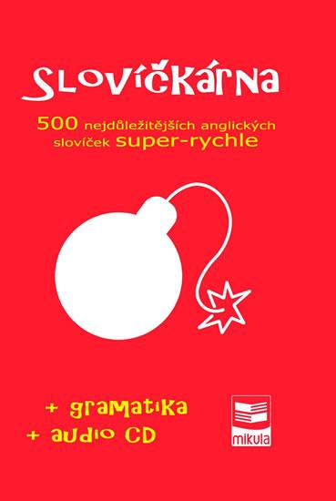 Slovíčkárna - 500 nejdůležitějších anglických slovíček super-rychle + CD - Cibulka Jan - 14,7x21