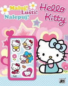 Hello Kitty - Maluj-Lušti-Nalepuj!