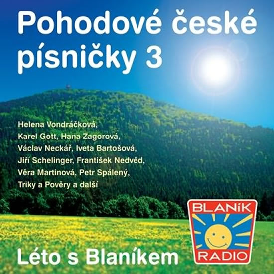 Pohodové české písničky 3 - CD - neuveden - 13x14