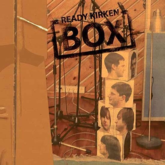 Ready Kirken - Box - CD - neuveden - 13x14