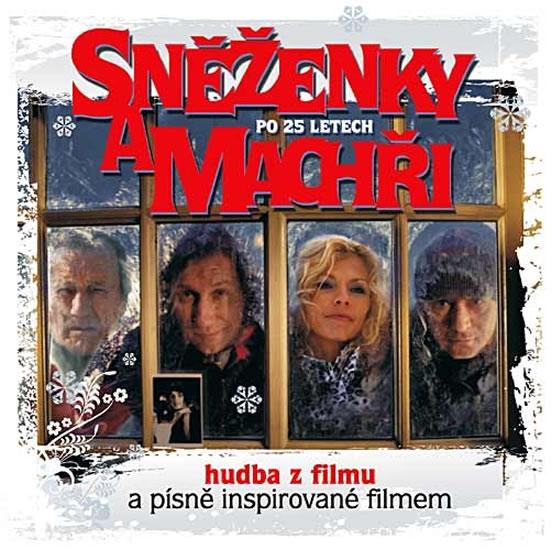 Sněženky a machři po 25 letech - CD (hudba z filmu) - neuveden - 12,5x14,2
