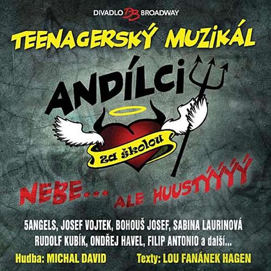 Muzikál - Andílci za školou - CD - neuveden - 12,5x14,2