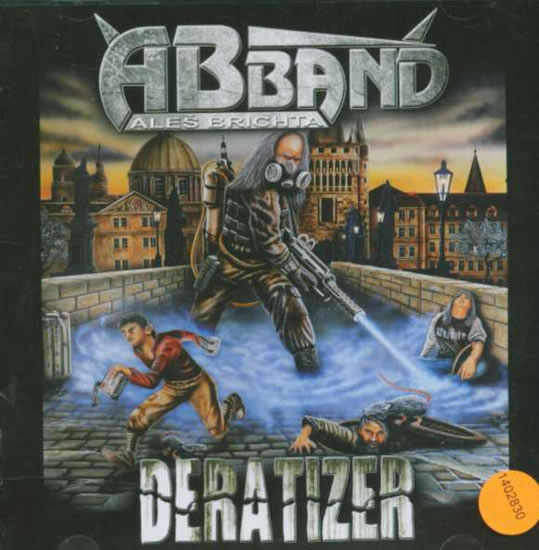 Aleš Brichta Band - Deratizer - CD - neuveden - 12,5x14,2