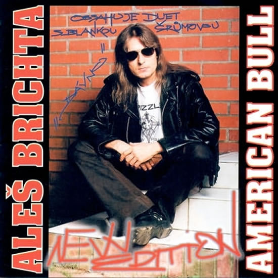 Aleš Brichta - American Bull (New Edition) - CD - neuveden - 12,5x14,2