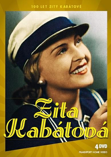 Zita Kabátová 100 let - Zlatá kolekce - 4 DVD - neuveden - 13,6x19,3