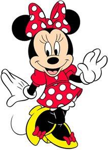 Minnie - Maluj, stříhej, nalepuj!