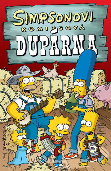Simpsonovi Komiksová dupárna - Groening Matt - 17x26