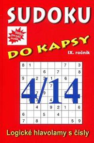 Sudoku do kapsy 4/2014 (červená)