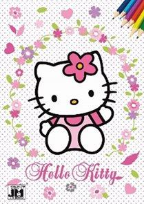 Hello Kitty 3 - Omalovánky A5+