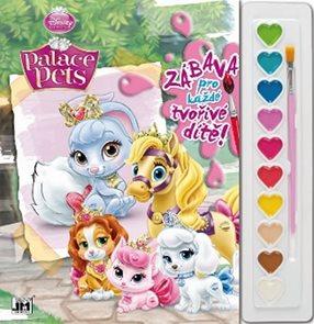 Palace Pets - Omalovánky s barvami A4